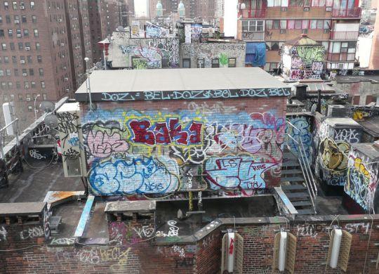 roof graffiti