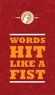 words like a fist